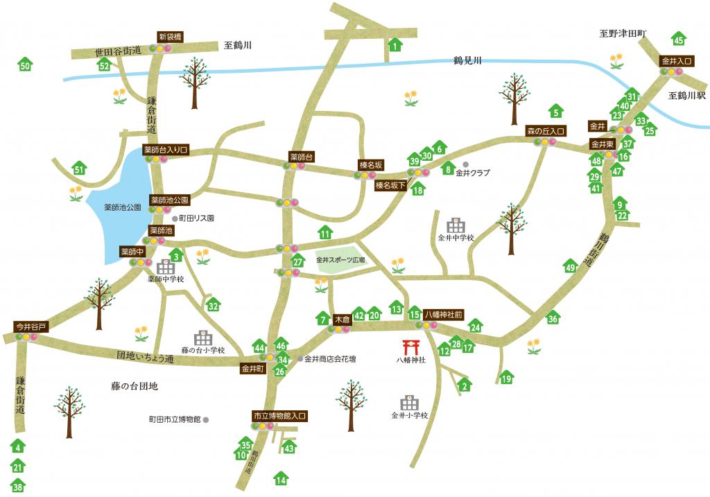 map_金井商店会