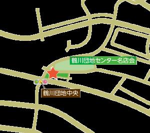 鶴川セントラルMAP_広域
