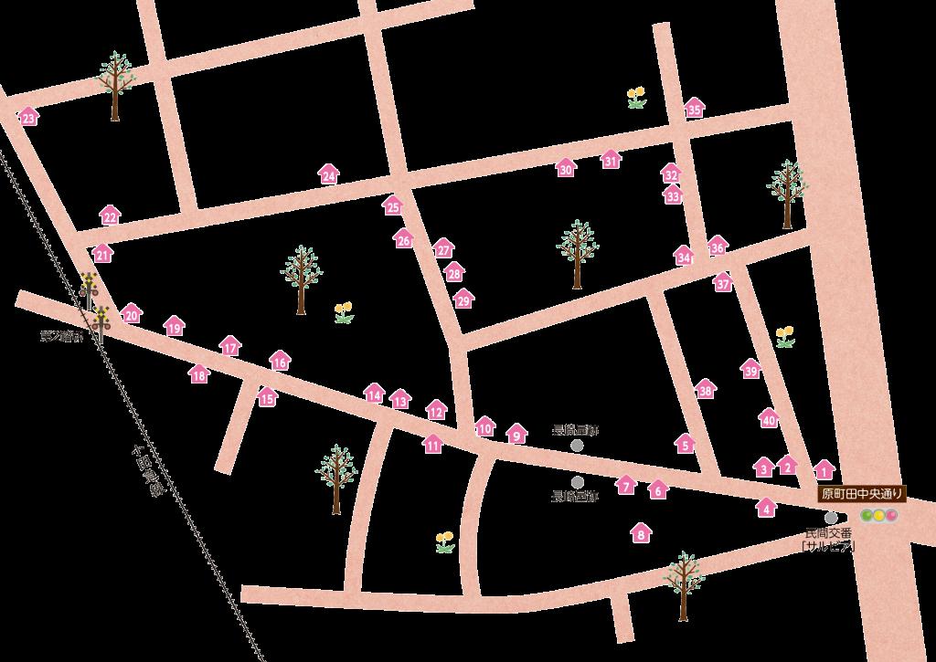 map_-町田二番街商店会